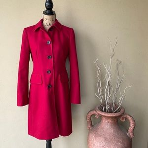 BR Wool Trench Coat